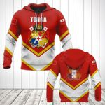 Tonga Coat Of Arms Lucian Style All Over Print Hoodies