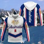 Australia New Style - Coat Of Arms All Over Print Shirts