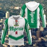 Nigeria New Style - Coat Of Arms All Over Print Shirts