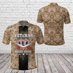 Operation Desert Storm Veteran All Over Print Polo Shirt