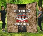 Operation Desert Storm Veteran Premium Quilt