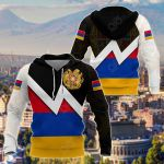 Armenia Coat Of Arms Style All Over Print Shirts