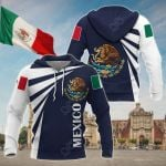 Mexico COA Style All Over Print Shirts