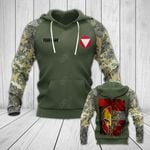 Customize Austrian Army Mask Flag All Over Print Hoodies