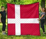 Denmark Flag Legend Premium Quilt
