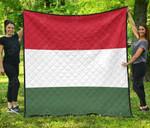Hungary Flag Premium Quilt
