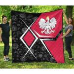 Polish Coat Of Arms Legend Premium Quilt