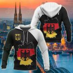 Germany Map Special All Over Print Hoodies
