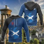 Scotland Map Special All Over Print Hoodies