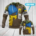 Customize National Guard of Ukraine All Over Print Hoodies