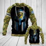 Customize Greece Army Mask Style All Over Print Hoodies