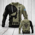 Customize Greece Army Veteran All Over Print Hoodies