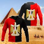 Flag Of Egypt All Over Print Shirts
