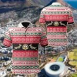 South Africa Geseënde Kersfees All Over Print Polo Shirt