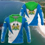 Sierra Leone Version All Over Print Shirts