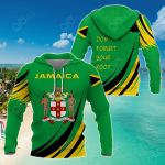 Jamaica Don't Forget Your Root All Over Print Shirts