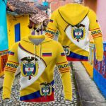 Colombia COA All Over Print Shirts