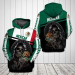 Mexican Reaper Flag All Over Print Hoodie