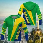 Brasil Simple Version All Over Print Shirts