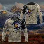 Customize Colorado Flag Camo 3D Sunflower All Over Print Hoodies