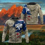 Customize Wyoming Flag 3D Camo All Over Print Hoodies