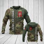 Italian Army Camo Version All Over Print Hoodies
