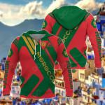 Morocco - New All Over Print Hoodies