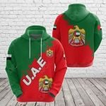 United Arab Emirates Smudge Version All Over Print Hoodies