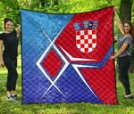 Croatia Coat Of Arms Legend Premium Quilt
