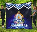 Honduras Coat Of Arms New Release Premium Quilt