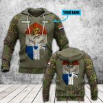Customize Netherlands Army Mask Style All Over Print Hoodies