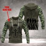 Customize Spanish Army Veteran All Over Print Hoodies