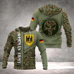 German Army Camo Version All Over Print Hoodies