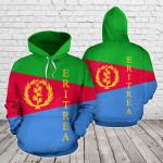 Eritrea Flag All Over Print Hoodies
