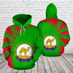 Eritrea Premium Style All Over Print Hoodies