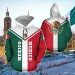 Mexico Rising All Over Print Hoodies