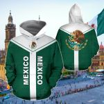 Mexico Rising Ver02 All Over Print Hoodies