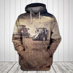 Tractor 3 All Over Print Hoodie