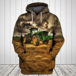 Tractor 4 All Over Print Hoodie