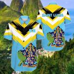 Saint Lucia New Release Short Sleeve Linen Button Down Shirt