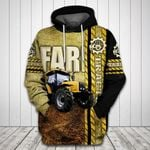 Farm Tractor All Over Print Hoodie