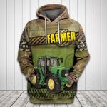 Tractor 3D All Over Print Hoodie