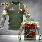 Customize Austrian Army Flag All Over Print Hoodies