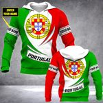 Customize Portugal Coat Of Arms New Style All Over Print Hoodies