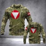Austrian Army Version All Over Print Hoodies