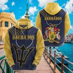 Barbados Mix All Over Print Hoodies