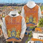 The Netherlands Mix All Over Print Hoodies