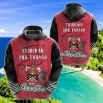 Trinidad And Tobago Mix All Over Print Hoodies