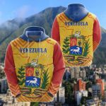 Venezuela Mix All Over Print Hoodies