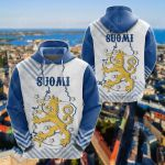 Suomi Mix All Over Print Hoodies